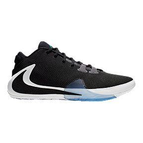 86a769ee730fe Nike Men's Zoom Freak 1 Basketball Shoes - Black/White