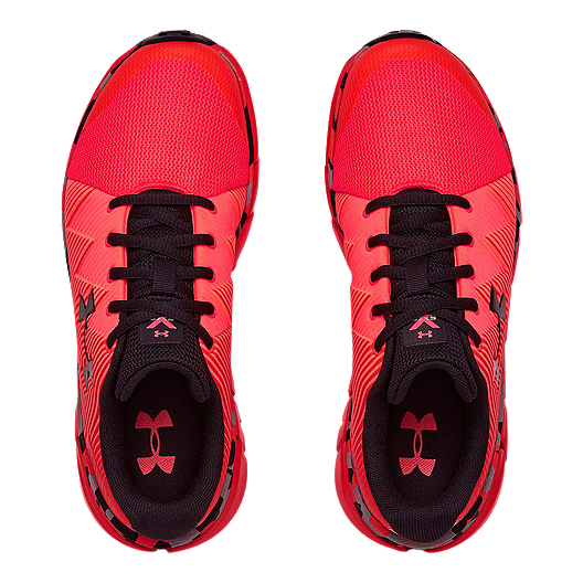 9accf848ff Under Armour Boys' X Level Scramjet 2 Grade School Running Shoes - Red/Black