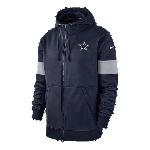 best service 0aa06 dd6d4 Dallas Cowboys Men's Nike Therma Full Zip Hoodie | Sport Chek
