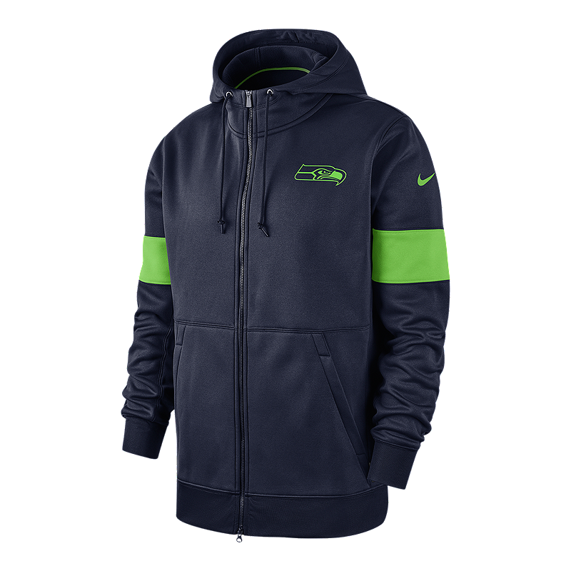 separation shoes 88917 db7d5 Seattle Seahawks Men's Nike Therma Full Zip Hoodie | Sport Chek