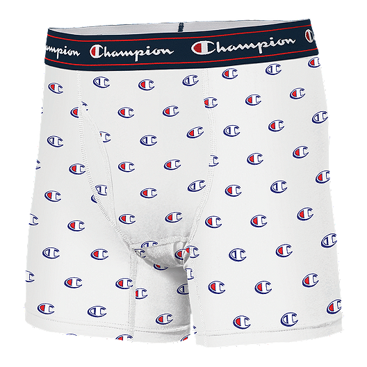 Champion C Logo Printed Boxer Brief White Sport Chek