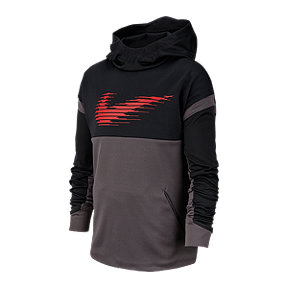 Nike Boys' Therma GFX Swoosh Pullover Hoodie