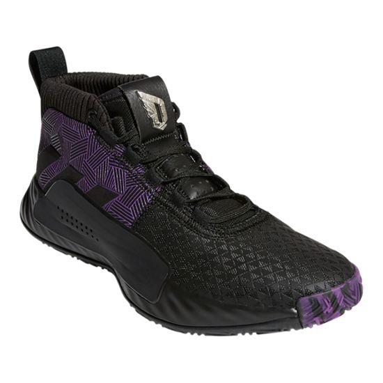 fa07b5ac760 adidas Marvel Black Panther Dame 5 - Black Purple Silver
