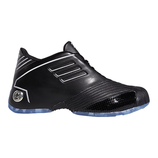 adidas Men's Marvel Nick Fury TMAC 1 Basketball Shoes BlackSilver