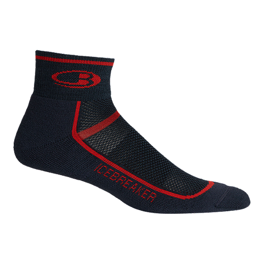 135693c449d Icebreaker Men s Multisport Cushion Mini Sock - OIL CHILI RED