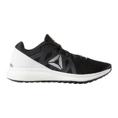 reebok all black running shoes