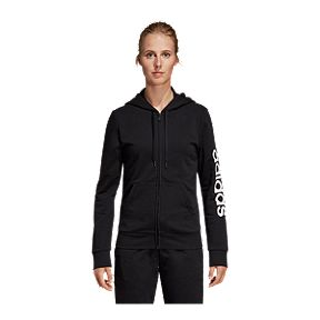 2cf80e8f61da adidas Women s Essentials Linear Full Zip Hoodie