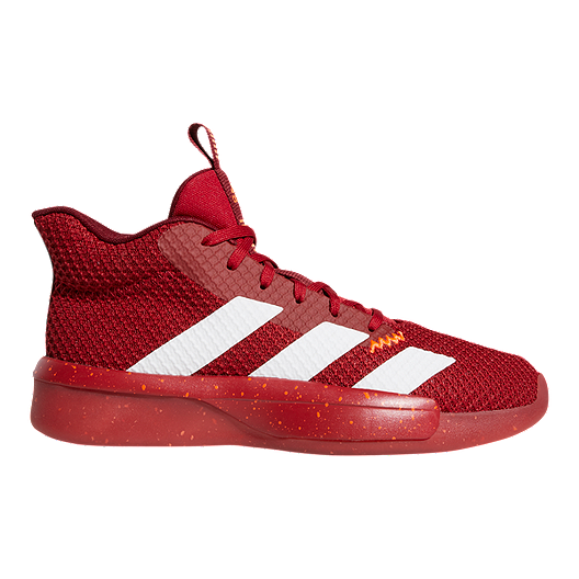 adidas Men's Pro Next 2019 Basketball Shoes - Red/White