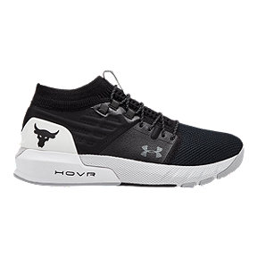 Under Armour Men's Project Rock 2 Shoes - Black/White