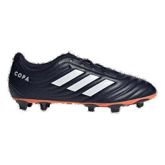 ae9a06dfe12c adidas Women's Copa 19.4 Firm Ground Cleats - Dark Blue/Coral | Sport Chek