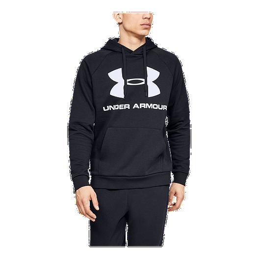 30ee8c237b Under Armour Men's Sportstyle Rival Fleece Logo Pullover Hoodie