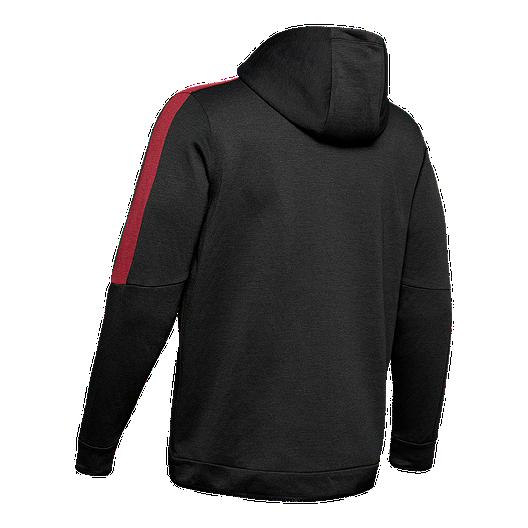 5eb4e68967 Under Armour Men's Athlete Recovery Fleece Full Zip Hoodie