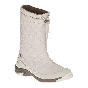 936e21f4da63 Merrell Women s Approach Pull On Waterproof Winter Boots - Silver Lining