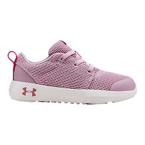Under Armour Girl Toddler Ripple 2.0 Shoes - Pink/White