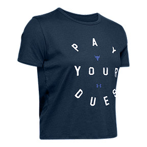 Under Armour Women's Project Rock Pay Your Dues T Shirt