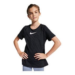 Nike Pro Girls' Short-Sleeve Top