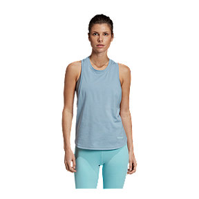 adidas Women's We All Care Parley Tank - Tactile Blue