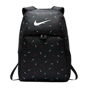 Nike Brasilia XL Swoosh Backpack - Black