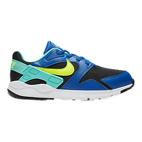 Nike Boys' LD Victory Pre-School Shoes - Black/Volt/Blue