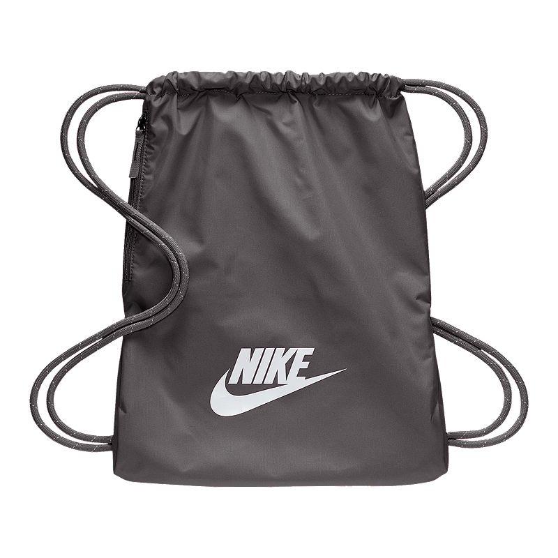Discriminar Correspondencia asesino  Nike Heritage Gymsack - Grey | Sport Chek