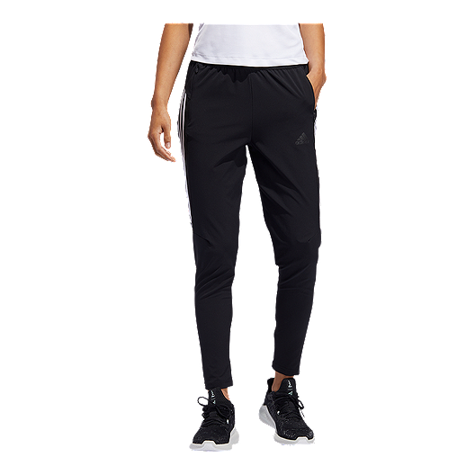c61750e2f92d0 adidas Women's 3 Stripe Woven Pants - Black