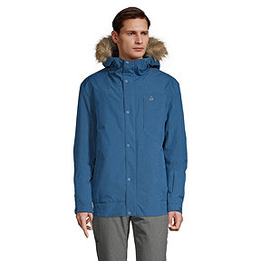 Ripzone Men's Backside Insulated Bomber Parka
