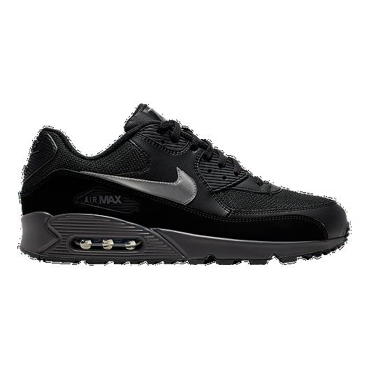 Nike Men's Air Max 90 Essential Shoes BlackGrey