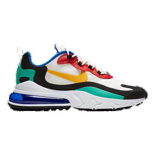 super popular b0654 4bf81 Nike Men's Air Max 270 React Shoes - Phantom/Gold/Red