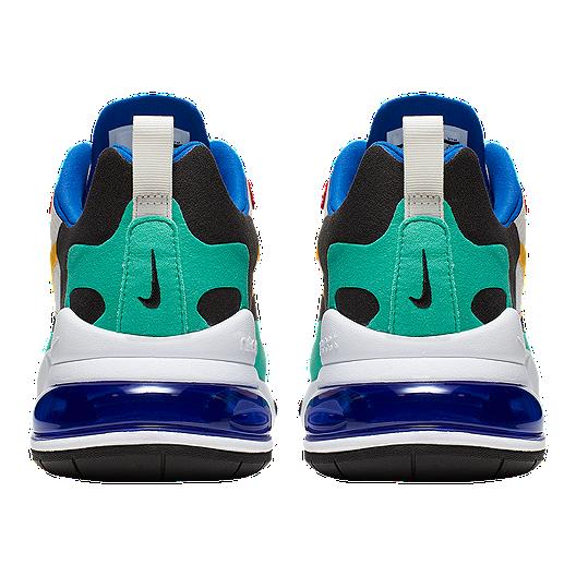 Nike Men's Air Max 270 React Shoes PhantomGoldRed