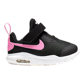 Nike Toddlers Air Max Oketo Shoes - Black/Pink