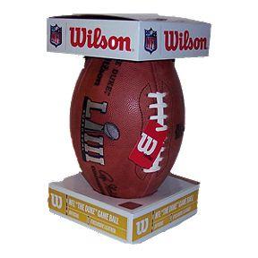 f75f44eeb4d Wilson Super Bowl LIII Official Game Football