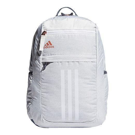 adidas League 3 Stripe Backpack - Jersey White   Sport Chek