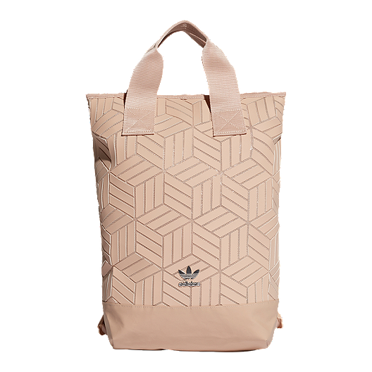 clearance sale promo code casual shoes adidas Originals 3D Roll Top Backpack - Pearl