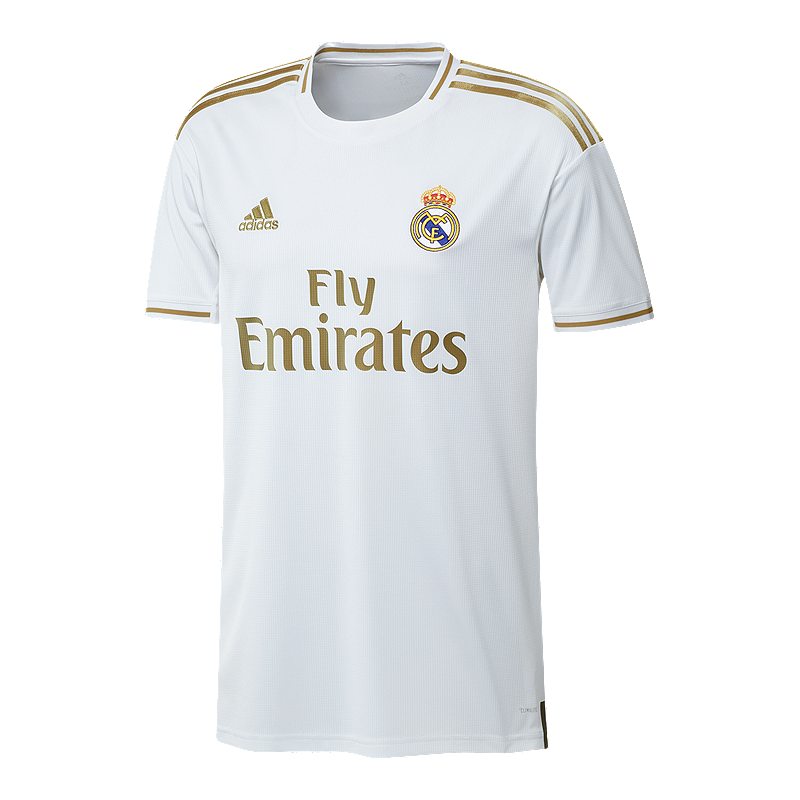 new style f723b 82b4b Real Madrid CF 2019/20 adidas Replica Home Jersey