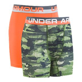 c0cf3615842d6e Under Armour Boys' Performance Boxer Brief Underwear - 2 Pack
