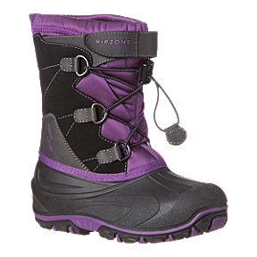 Ripzone Girls' Apollo II Winter Boots - Black/Purple