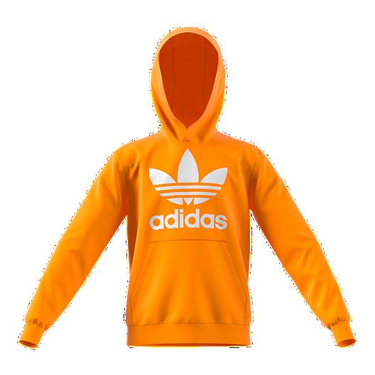 61feaa03 adidas Boys' Originals Trefoil Hoodie
