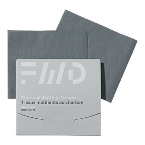 FWD Face Blotting Sheets Charcoal Infused - 100 Ct