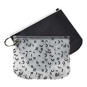FWD Neoprene Pouch Duo - Midnight/Print