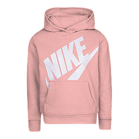 Nike Toddler Girls' Futura Fleece Pullover Hoodie