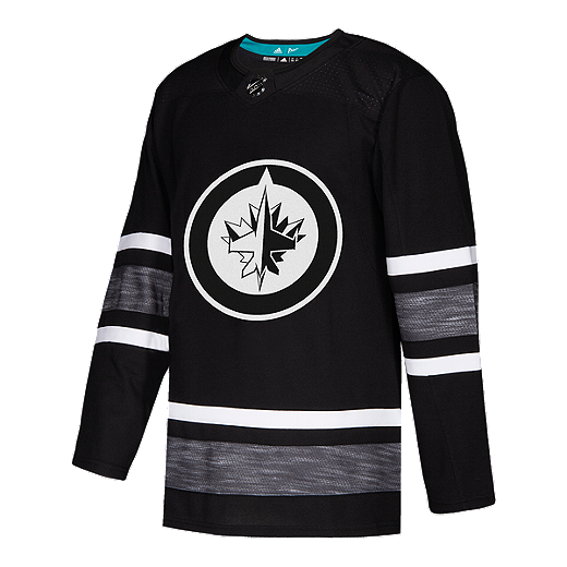 833cc81016e Winnipeg Jets adidas Parley Authentic 2019 All-Star Black Game Jersey -  BLACK