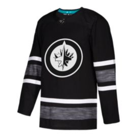 Winnipeg Jets adidas Parley Authentic 2019 All-Star Black Game Jersey