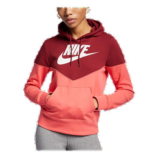 4012f9b5e2 Nike Sportswear Women's Heritage Pullover Hoodie