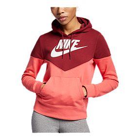 fdfa71f95f1b Nike Sportswear Women s Heritage Pullover Hoodie