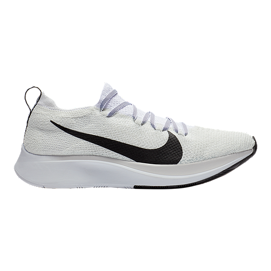 efc2ac32ff7d Nike Women s Zoom Fly Flyknit Running Shoes - White Black