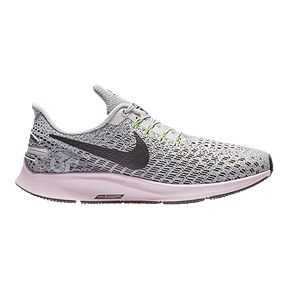 e8ed4d4dd3f Nike Women s Air Pegasus 35 FlyEase WD Running Shoes - Grey