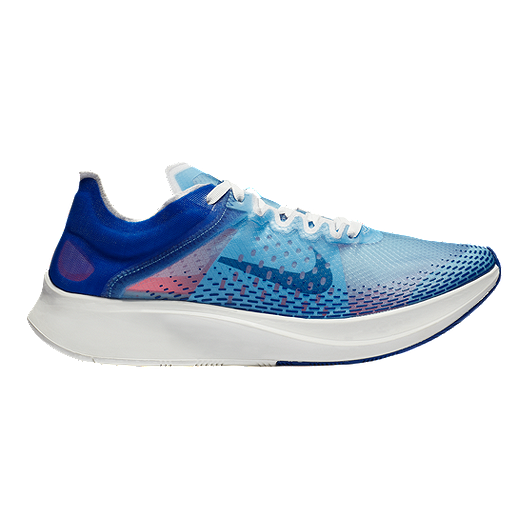 534edc039e98 Nike Women s Zoom Fly SP Fast Running Shoes - Blue Red