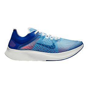 Nike Women s Zoom Fly SP Fast Running Shoes - Blue Red 81763ed90