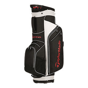 TaylorMade 5.0 Cart Bag - Black/White/Red