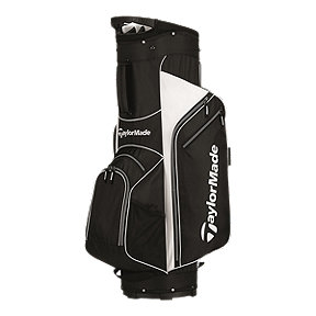 TaylorMade 5.0 Cart Bag - Black/White